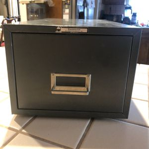 Metal Filing Box for Sale in West Covina, CA