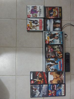 Sony DVD Player with DVD's for Sale in Alexandria, VA