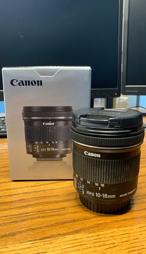 Canon lens 10-18mm for Sale in Tempe, AZ