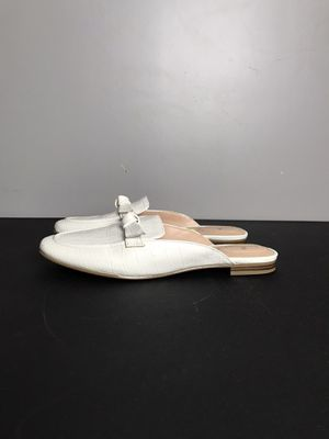 Bandolino Damia Bow Mules White size 9 New without box for Sale in French Creek, WV