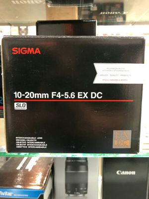 Sigma 10-20mm f4-5.6 ex DC for Sale in Fort Lauderdale, FL