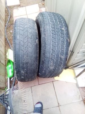 LT245/75R16 P255/70R16 for Sale in Fresno, CA