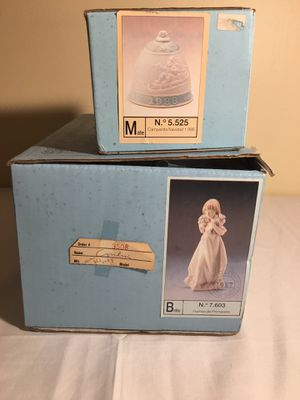 2 Lladro with original box for Sale in Pottstown, PA