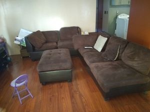 FURNITURE..SECTIONAL COUCHES AND TABLE AND CHAIRS for Sale in Ontario, CA