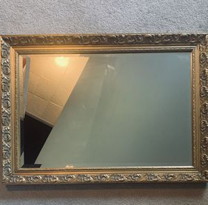 Gold Vintage French Accent Mirro for Sale in Toledo, OH