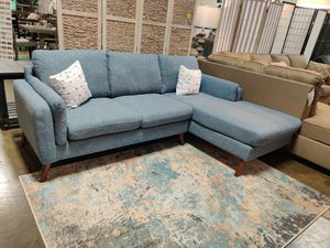 Sectional Sofa, Blue for Sale in Santa Ana, CA
