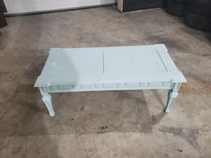 Light blue Coffee table for Sale in Martinsburg, WV