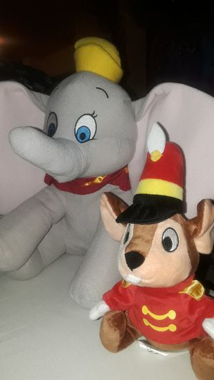 Dumbo and Timothy 2pc plushie deal for Sale in Montclair, CA