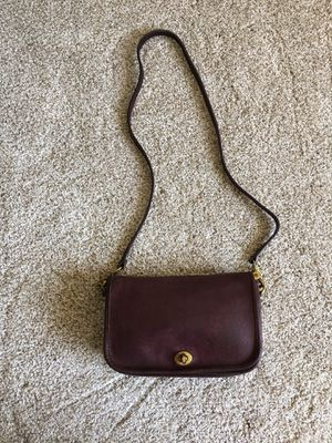 Vintage Coach Convertible Cross-body to Clutch Bag for Sale in Mukilteo, WA