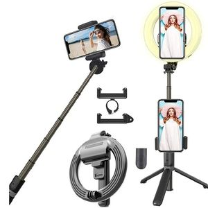 "6.3"" Selfie Ring Light With Adjustable Bracket (13""to 35"") New for Sale in Clackamas, OR"