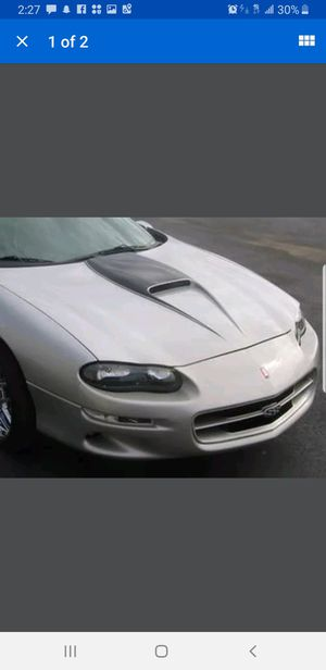 98-02 camaro ss hood sticker, used for sale  black for Sale