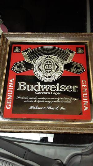 Bud mirror for Sale in Arlington, TX