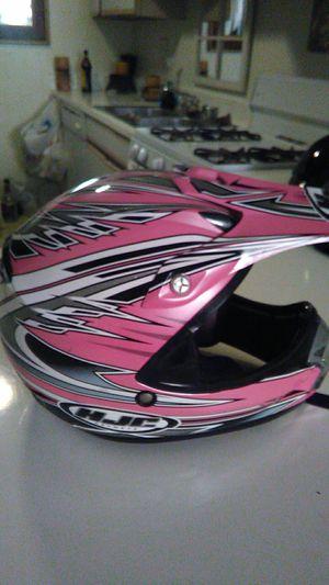 HJC motocross helmet girls brand-spanking-new for Sale in Santa Ana, CA
