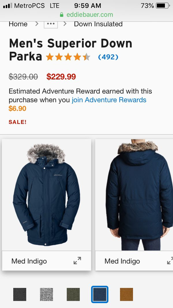 Brand NEW Eddie Bauer Coat New ( Was Christmas Gift )