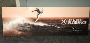 Hurley John John Florence Sign/picture Display for Sale in Virginia Beach, VA