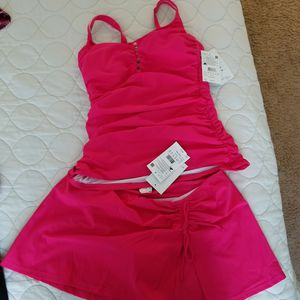 Hot pink two piece bathing suit for Sale in Ontario, CA