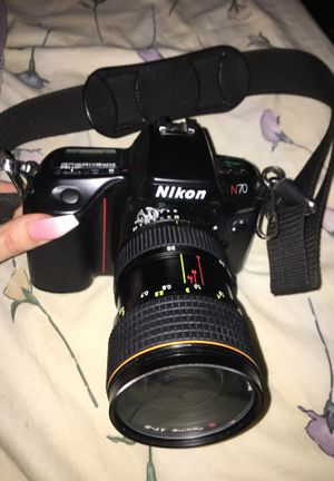 Nikon N70 with Tokina AT-X 35-70 mm lense!! for Sale in Vallejo, CA