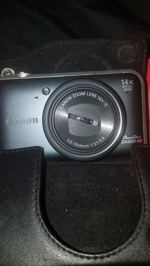Canon power shot camera for Sale in Murphy, NC