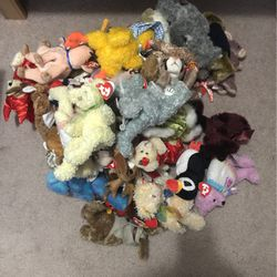 Ty Beanie Babies Lot Of 45 1993-2004 for Sale in Marysville,  WA