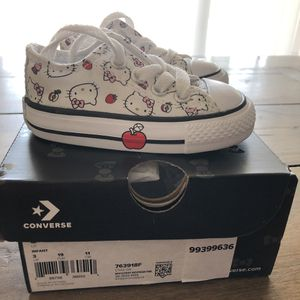 Like new-Limited edition Hello Kitty Chucks for Sale in Glendora, CA