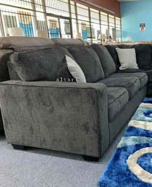 🎉💲39 Down Payment🎉Special Altari Slate Raf/Laf Sectional🚛Same Day Delivery for Sale in Alexandria, VA
