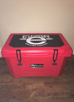 Red and Black Elevator Grizzly cooler for Sale in Columbus, OH