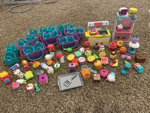 Shopkins lot with container for Sale in Canton, MI