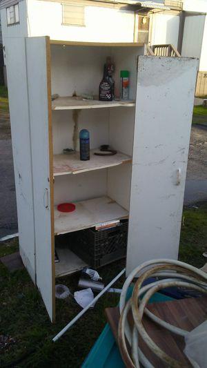 White locked cabinet for Sale in Hughson, CA