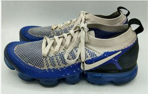 Nike Vapormax Flyknit 2 Men Sz 8.5 Running Shoes Racer Blue 942842-204 for Sale in Virginia Beach, VA