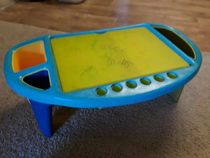 Travel lap desk kids with storage for Sale in Tacoma, WA