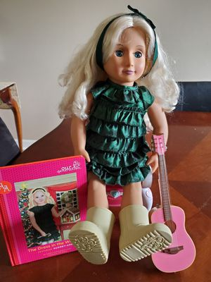 American girl doll with assosories for Sale in Mt. Juliet, TN