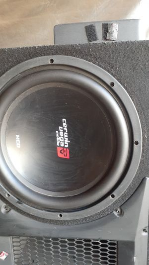 "Two 12"" subwoofers for Sale in Phoenix, AZ"