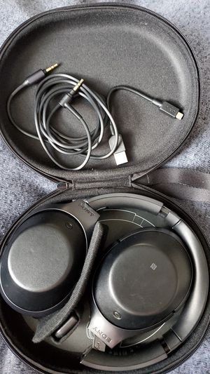 Sony MDR-1000x Noise Cancelling Headphones for Sale in Arlington, VA
