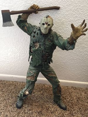 NECA Jason Voorhees Collectible Action Figure for Sale in Rancho Santa Fe, CA