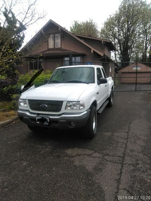 2003 Ford ranger XLT 4X4 SUPER CAB EXTENDED BED for Sale in Gresham, OR