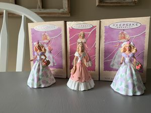 Hallmark Springtime Barbie ornament collection for Sale in Dunedin, FL