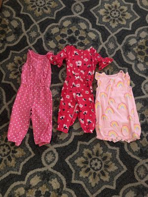 12 month girl rompers for Sale in Chino, CA