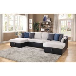 Sectional Sofa W/Sleeper/// Financing Available for Sale in Fort Lauderdale,  FL