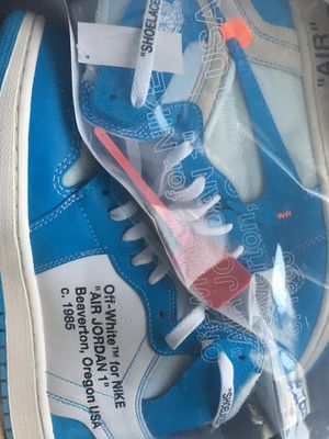 "Off White Air Jordan 1 ""UNC"" for Sale in Dunlap, IL"