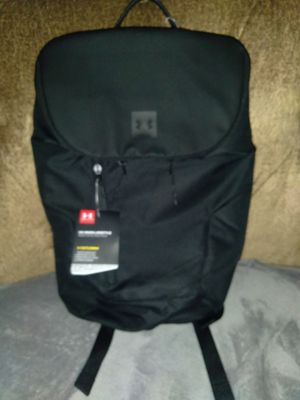 Brand New Under Armour Black Backpack for Sale in Redlands, CA