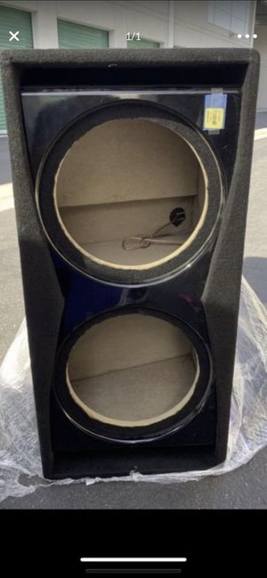 """New Metra 12"""" Dual Subwoofer ported TCPSP-212 for Sale in Irvine, CA"""