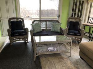 Wicker set for Sale in North Andover, MA