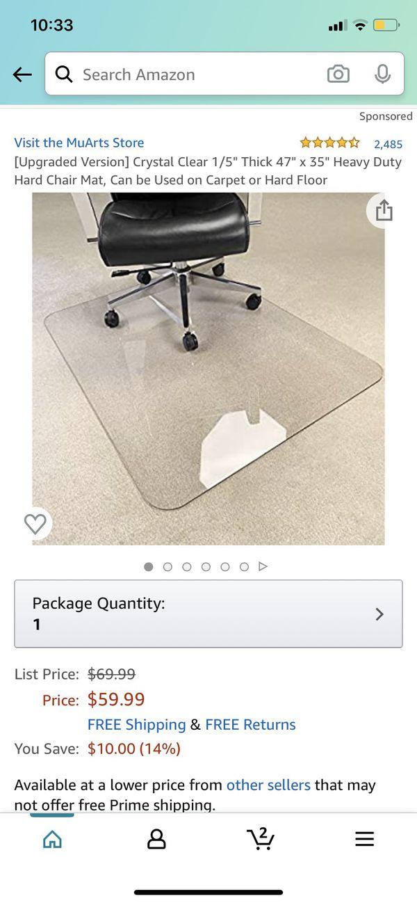 Clear Chair Mat