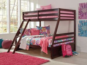 Ashley signature series twin over a full bunk bed for Sale in Stockton, CA