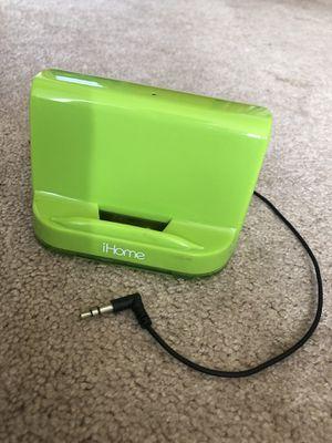 Apple iHome Portable Audio Dock/Station/Speakers - Bright/Neon Green for Sale in Lake Stevens, WA