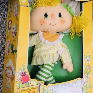 Vintage Lemon Meringue 1981 Strawberry Shortcake Rag Doll for Sale in Chula Vista, CA