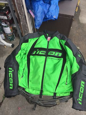 Motorcycle jacket size large for Sale in Franklin Square, NY