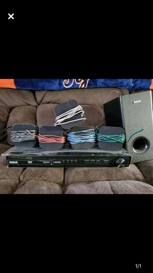 RCA surround sound w/ DVD player for Sale in Kingsley, MI