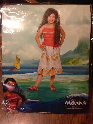 NEW Disney Moana costume - size 7/8 for Sale in Cicero, IL