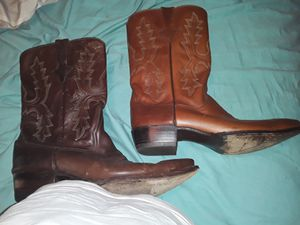 Zodiac cowboy boots size 12 for Sale in Tampa, FL
